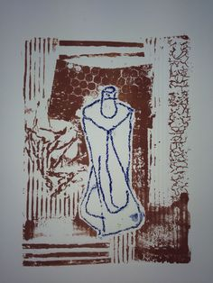 Collagraph of my object