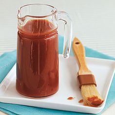 This sauce is sweet with just a touch of spice, perfect for kids and adults. If you want to make this gluten free, check the label on your Worcestershire sauce; it may contain gluten. Homemade Barbecue Sauce, Barbecue Sauce Recipes, Homemade Sauce, Bbq Sauces, Barbeque Sauce, Dipping Sauces, Cooking Light Recipes, Cooking 101, Cooking Rice