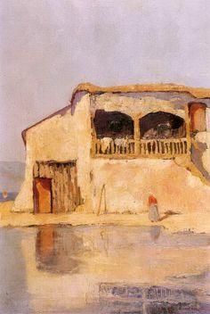 .:. Οικονόμου Μιχαήλ – Michail Oikonomou [1888-1933] Σπίτι στη νότια Γαλλία 2