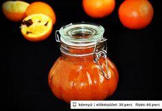 Narancslekvár Gizi konyhájából Smoothie Fruit, Hungarian Recipes, Marmalade, Hot Sauce Bottles, Pickles, Jelly, Main Dishes, Paleo, Food And Drink