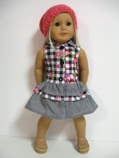 American Girl Doll Clothes Springfloral by 123MULBERRYSTREET, $25.00