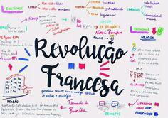 Mapa Mental de História Geral : Revolução Francesa College Works, Mental Map, School Study Tips, Study Help, History Class, School Notes, Study Notes, Student Life, Language