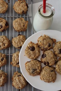 Quinoa Dark Chocolate Chip Cookies {Gluten Free}