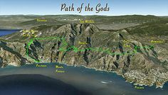 Path of the Gods route