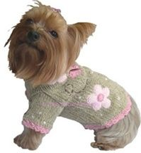 Oscar Newman : Shop By Designer : Doggie Couture Shop - I love Oscar Newman!  Unfortunately, this sweater is not available...