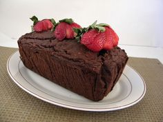 Chocolate Strawberry Loaf