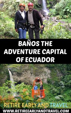 Baños, Ecuador, located in the central Andes, is an outdoor adventurist dream. Situated in an area filled with waterfalls and hot springs its a meca for.. #quitoecuador