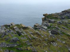 The Rocky Edge of Dun Aengus | Inishmore | Aran Islands | Ireland | Postcards from a Blonde