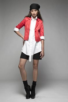 Taylor 'Follow the line' collection, Winter 2013 www.taylorboutique.co.nz Taylor Boutique - Netti Jacket - Poppy