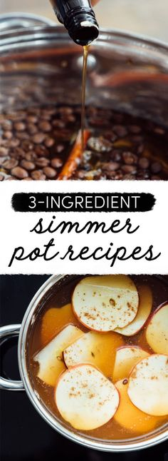 5 Simple Simmer Pot Recipes That'll Make Your Home Smell Amazing Homemade Potpourri, Simmering Potpourri, Stove Top Potpourri, Potpourri Recipes, House Smell Good, House Smells, Three Ingredient Recipes, Home Scents, How To Make Coffee