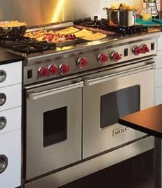 wolf gas stove appliances - Google Search