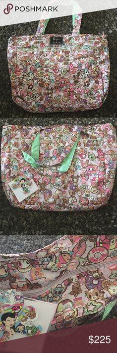 ⭐️SALE⭐️BNWT TOKIDOKI JU JU BE BE QUICK TOTE Brand new with tags Tokidoki JU JU Be large super Be tote in donutellas sweet shop. Sold out and hard to find tokidoki Bags Totes