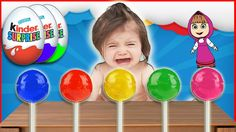 Bad Baby Crying and Learn Colors with Colorful Lollipops - Nursery Rhyme...
