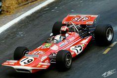 #19 Jo Siffert...March Engineering...March 701...Motor Ford Cosworth DFV V8 3.0...GP Monaco 1970