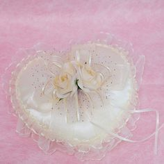 婚顧推薦 結婚必備的玫瑰花 戒枕 : 心願幸福婚禮小物