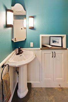 Urban Infill - traditional - bathroom - austin - CG&S Design-Build
