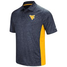 With our WVU Wedge Polo, you will be looking nice while showing off your West Virginia University pirde during your next job or internship interview.