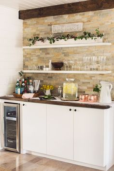 Image result for basement coffee stations