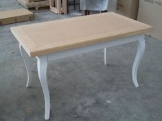 TAVOLO ALLUNGABILE LEGNO SHABBY CHIC BICOLORE Dining Table, Furniture, Home Decor, Houses, Decoration Home, Room Decor, Dinner Table, Home Furnishings, Dining Room Table