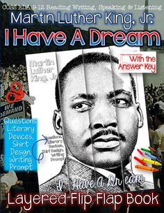 "Martin Luther King, Jr., ""I Have A Dream,"" Layered Flip Flap Book ($)"