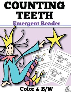 Dental Health Month counting teeth emergent reader!
