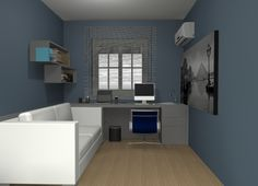 Projeto dormitório de hóspedes