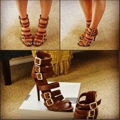 Gorgeous gladiator high heel sandals ♥ from Target!