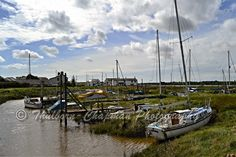 Small jetties and mud moorings along the River Wyre near Stalmine / Staynall, by Hambleton, Lancashire UK Blackpool, Country Life, Discovery, Coast, River, Day, Places, Pictures, Photography