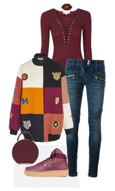 """""""Untitled #185"""" by ms-ashmarie on Polyvore featuring Balmain, STELLA McCARTNEY, BUwood and Lime Crime"""