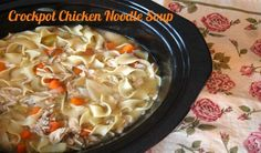 Crockpot Chicken Noodle Soup