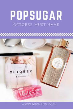 Check out my review of Popsugar's October Must Have Box. See which items were my fave and which were so-so.