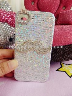 2014 fashion mobile rhinestone phone case for iphone 4s  1. made of  pc+diamond  2.fast delievry