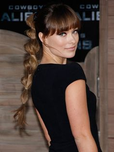 Olivia Wilde's wild #long #pontail