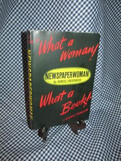 Newspaperwoman by Agnes Underwood  *17 by TheBookE on Etsy