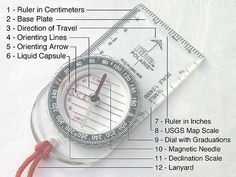 How to: Set a bearing with a magnetic compass