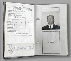 Famous Peoples Passports: Alfred Hitchcock - not just a director, a motion picture director Alfred Hitchcock, Marilyn Monroe, Katharine Hepburn, Audrey Hepburn, Whitney Houston, Janis Joplin, Virginia Woolf, Jackie Kennedy, Johnny Cash