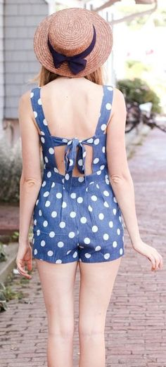 Summer Outfit Collections: DIY romper out of dress