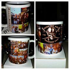 Custom Raiders Mug- www.facebook.com/mgspromos