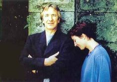 Alan Rickman and Emma Thompson ... I'm guessing it might have been around 1995 ...?