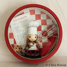 round box Pastries by chloeremiat on Etsy