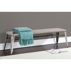 Tabouret Gunmetal 60-inch Indoor Bench - Prices, Reviews & Deals - 16555025 $199