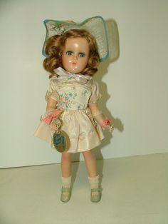 "Vintage 15"" R B Nancy Lee Composition Doll Mohair Orig Box Label Hang Tag | eBay"
