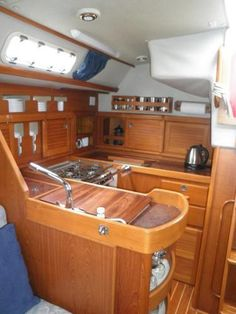 Westerly Oceanlord 41 MkII Main Image. Sailboat InteriorYacht InteriorBoat  ...