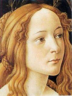 Sandro Botticelli (Italian artist, 1445-1510) Detail Venus