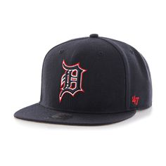 Detroit Tigers 47 Brand Red White   Blue Snapback Hat. Detroit Tigers HatDetroit  GameSoul GameRed White BlueSnapback HatsGearsGear TrainSnapback CapBall ... 403aba92d
