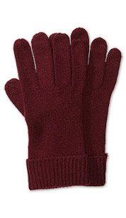 Handschoenen in bordeaux