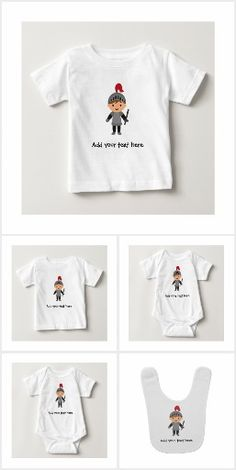 Customisable Little Knight in Shining Armour Products