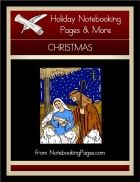 FREE Christmas Notebooking Pages (w/Recipe Cards, Foldable Greeting Cards, & Labels)