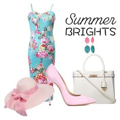 """Summer Brights"" by loretta-goodin-kendall on Polyvore featuring Dorothy Perkins, Casadei and New Directions"
