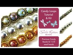 Candy Loops Bracelet & Necklace Tutorial - YouTube